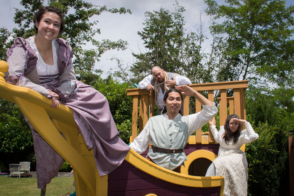 - Four actors will bring all the laughter, all the adventure, and all the magic of Twelfth Night and Pericles to smaller parks in the greater Seattle area, July 8-August 13, 2016. Laura Lee takes on the roles of Viola in Twelfth Night and Marina (among many various lords, fisherman, and gentlemen) in Pericles.