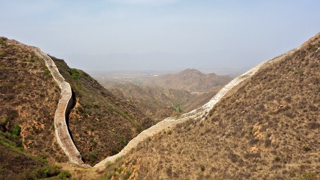 The Great Wall at the northern edge of Fangkou