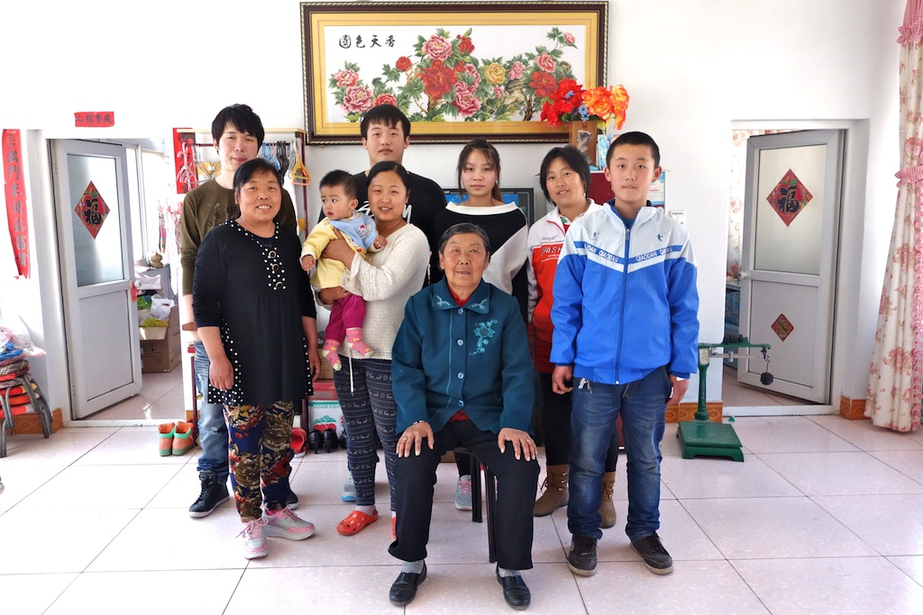 Li Shaolan and her family