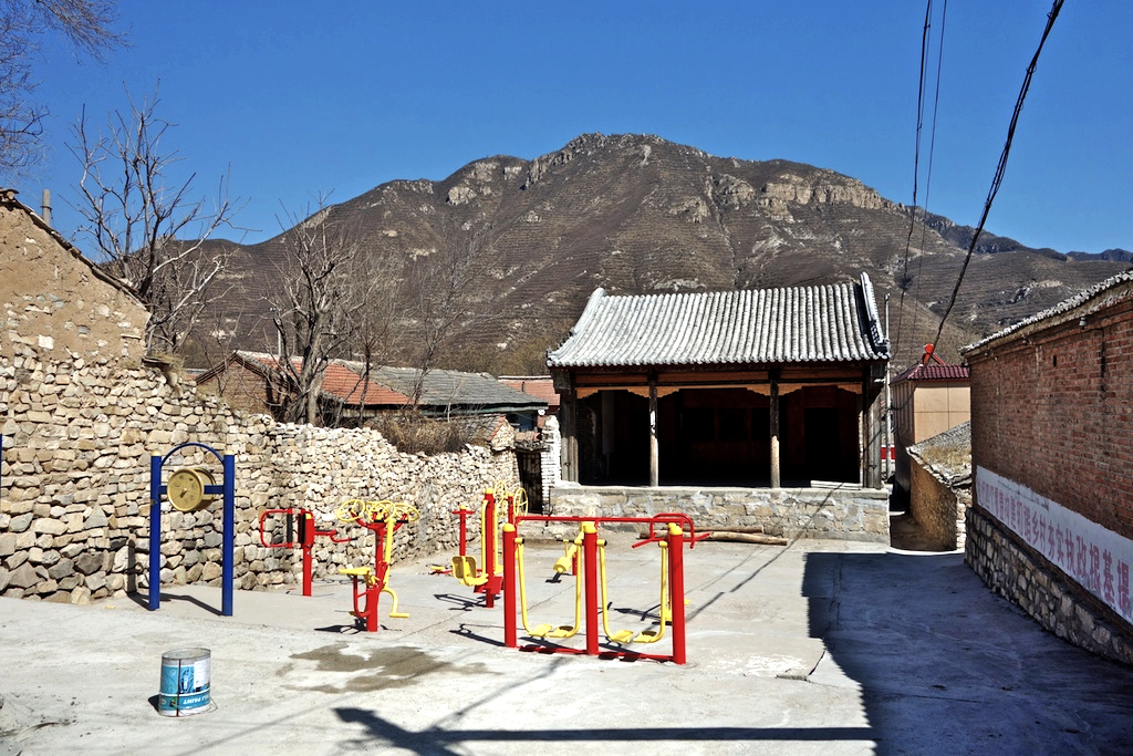 The village's Ming dynasty theatre