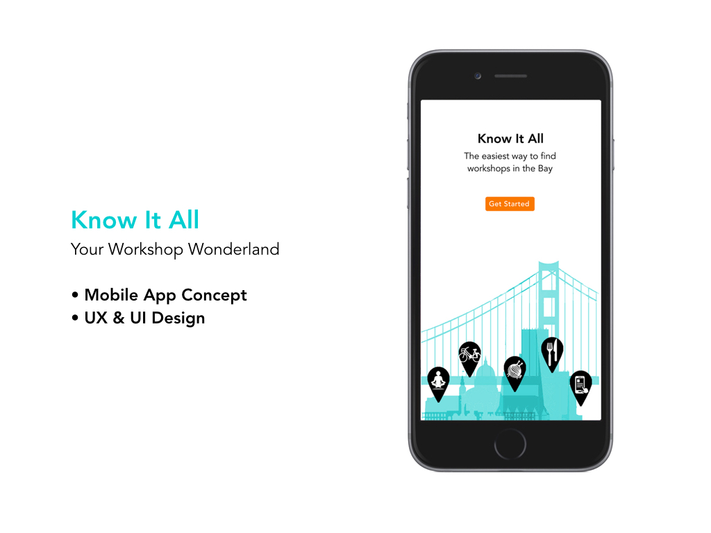 """""""Kat excelled at each step of the UX process: creative ideation, thorough user research, navigation, many rounds of wireframe and prototype iterations, clean visual design, and a highly professional and polished final presentation.""""  — Beverly May, Founder of the UX Awards"""