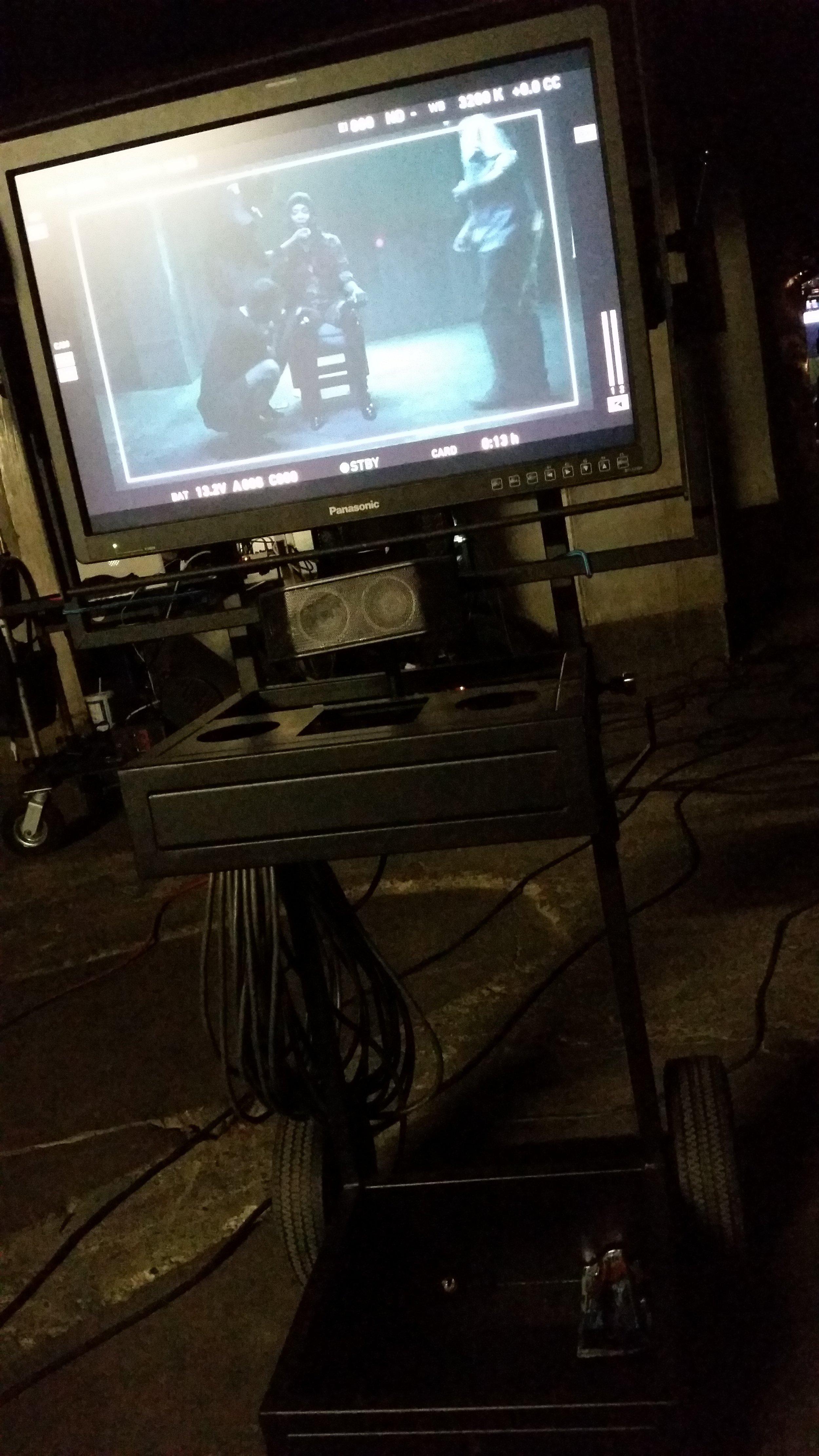 #bts on set