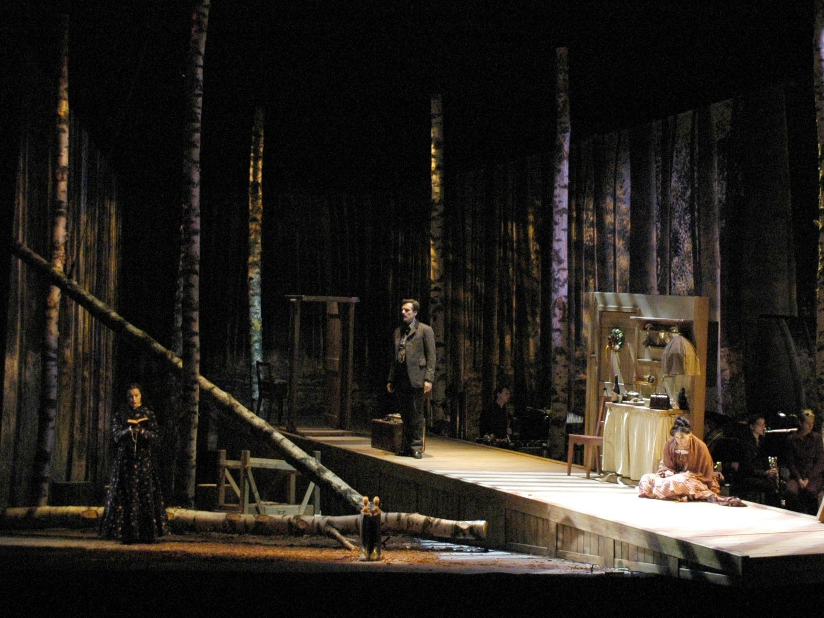 Julie   - BOESMANSmy set and costume designDirected by M. Schweigkofler Theatre of Bolzano, Italy  2009