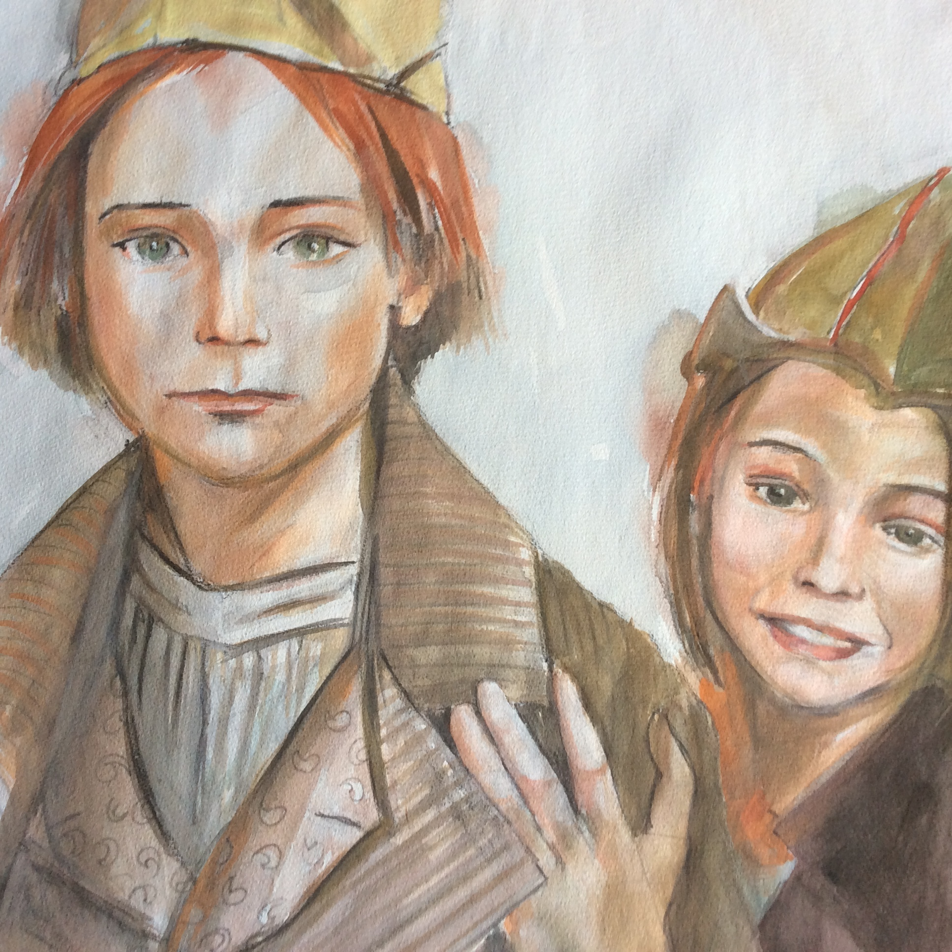 children soldiers - personal projectwatercolor2005