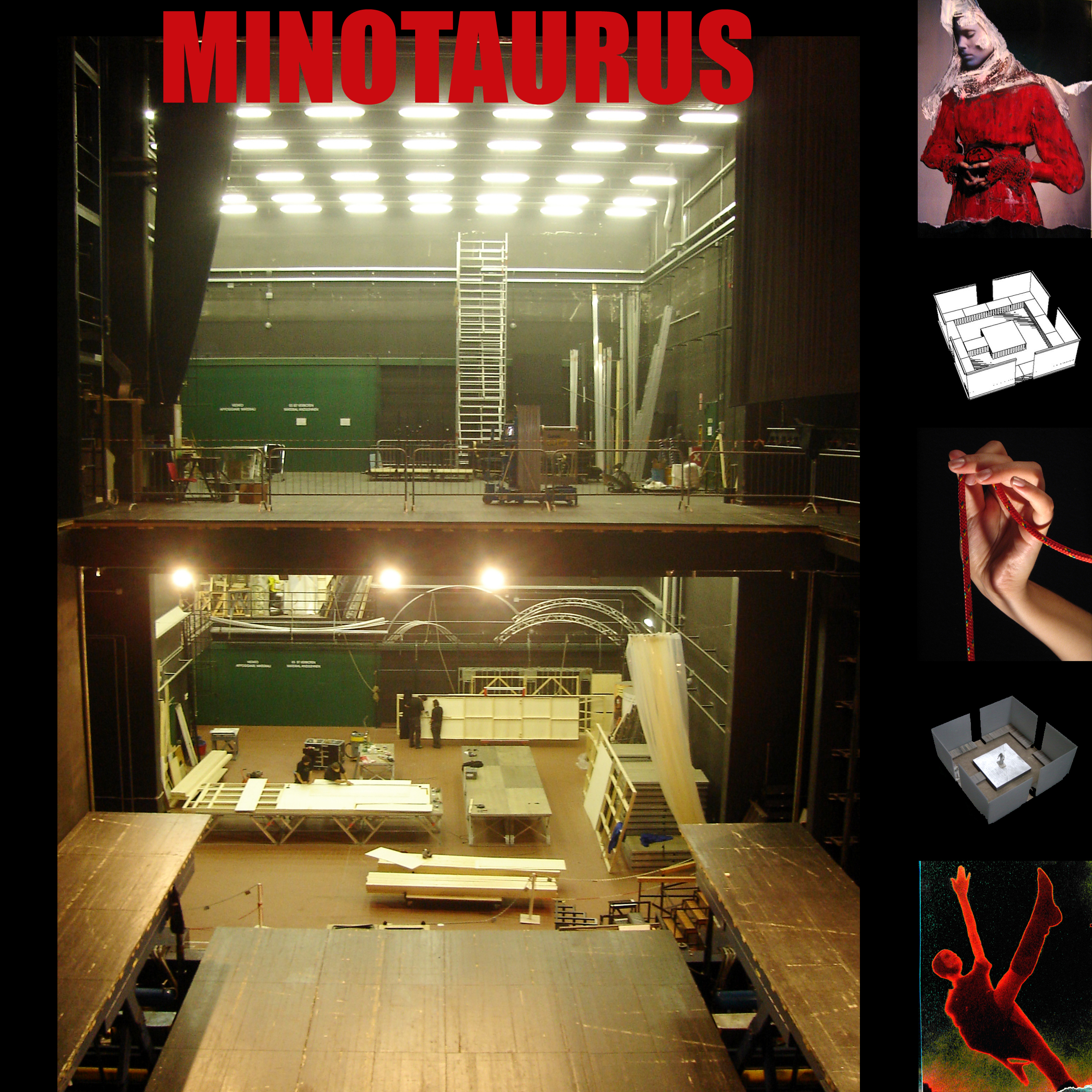 Mnemosyne - Minotaurus - directed, set and costuma CRISTINA ALAIMOworkshop  for