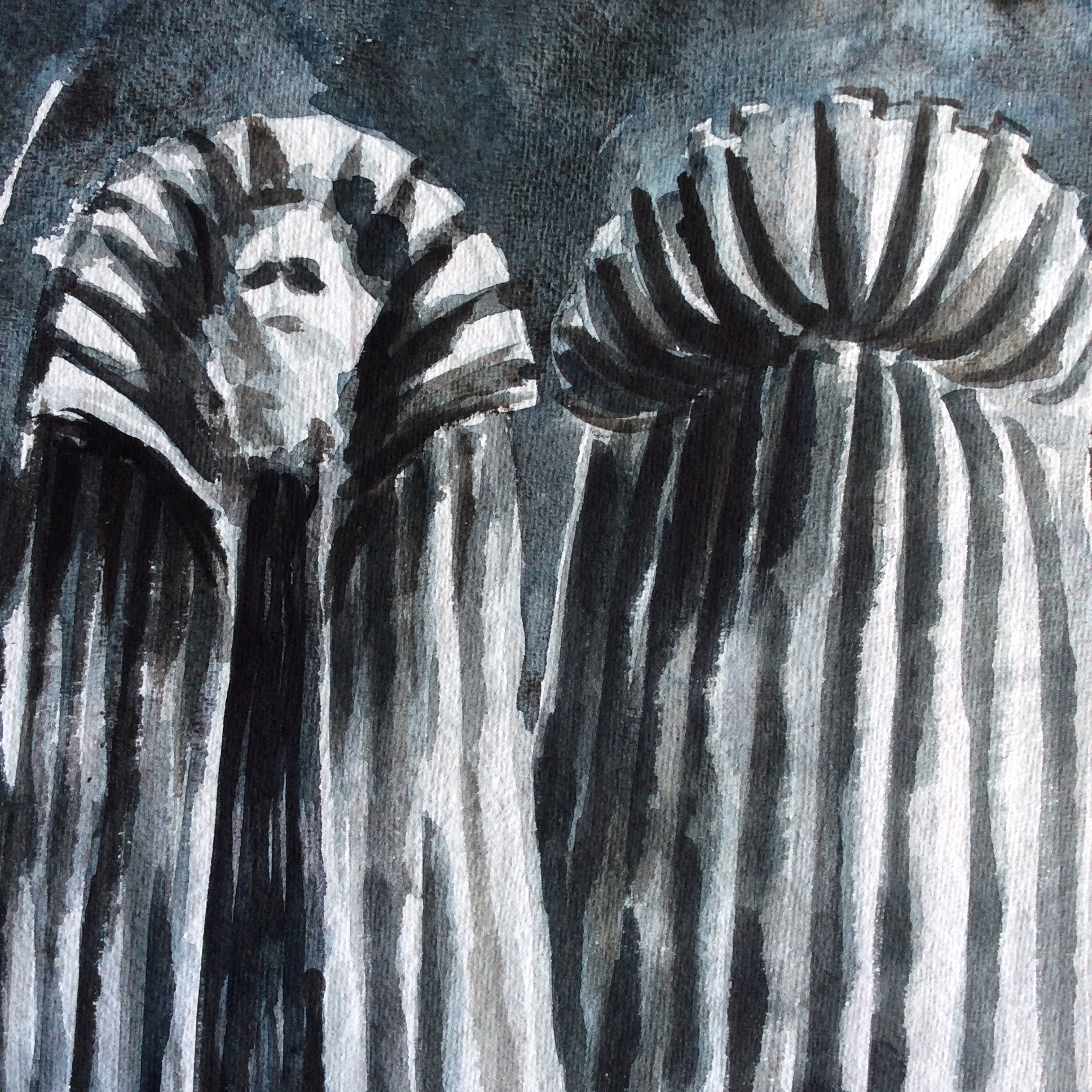 the tempest - W. SHAKESPEAREProsperowatercolor and china ink1999