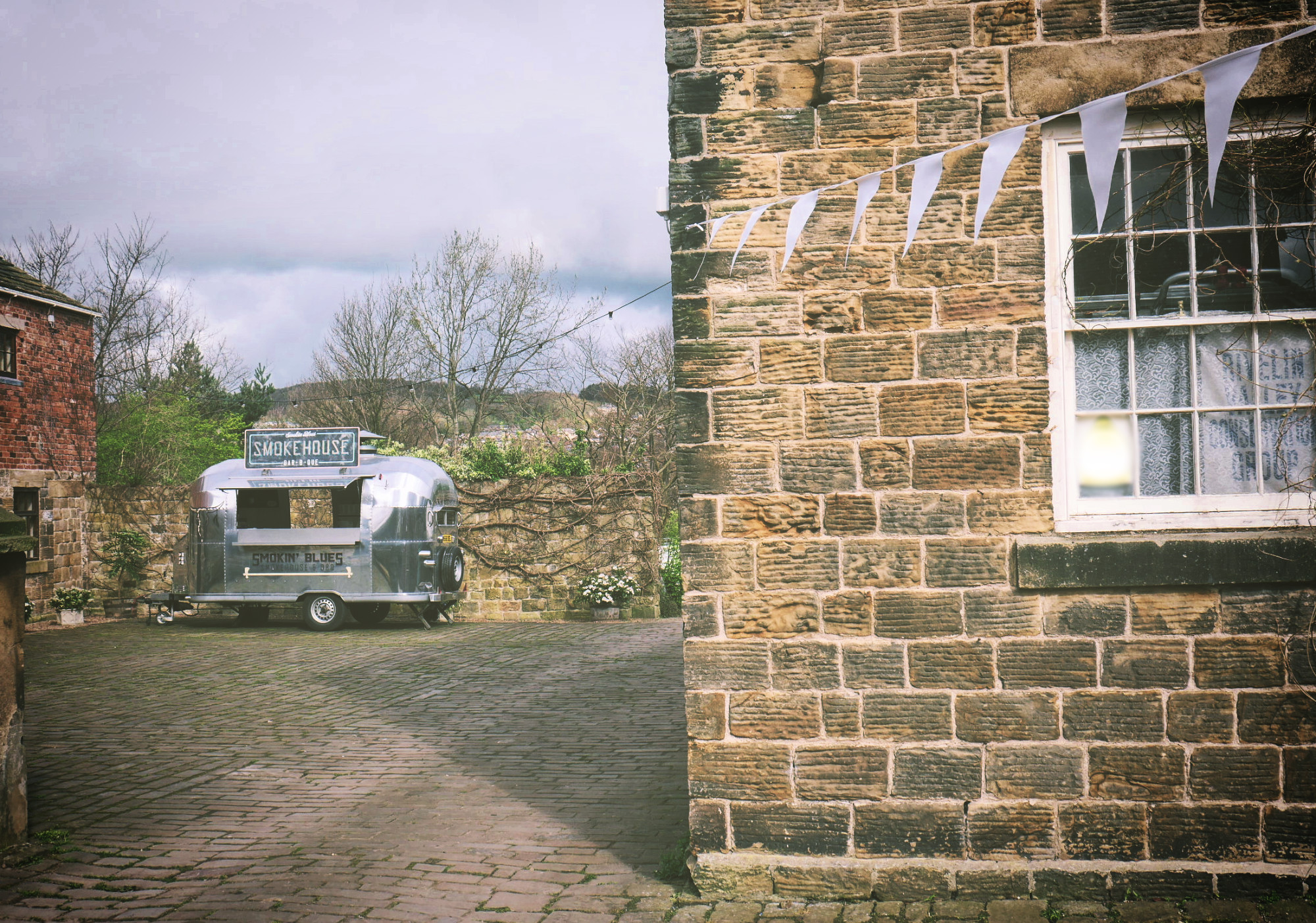 Airstream yorkshire hire wedding street food