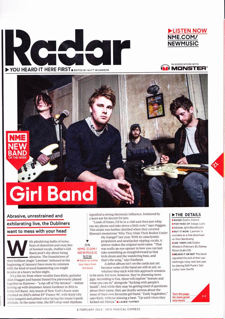 Girl Band - NME