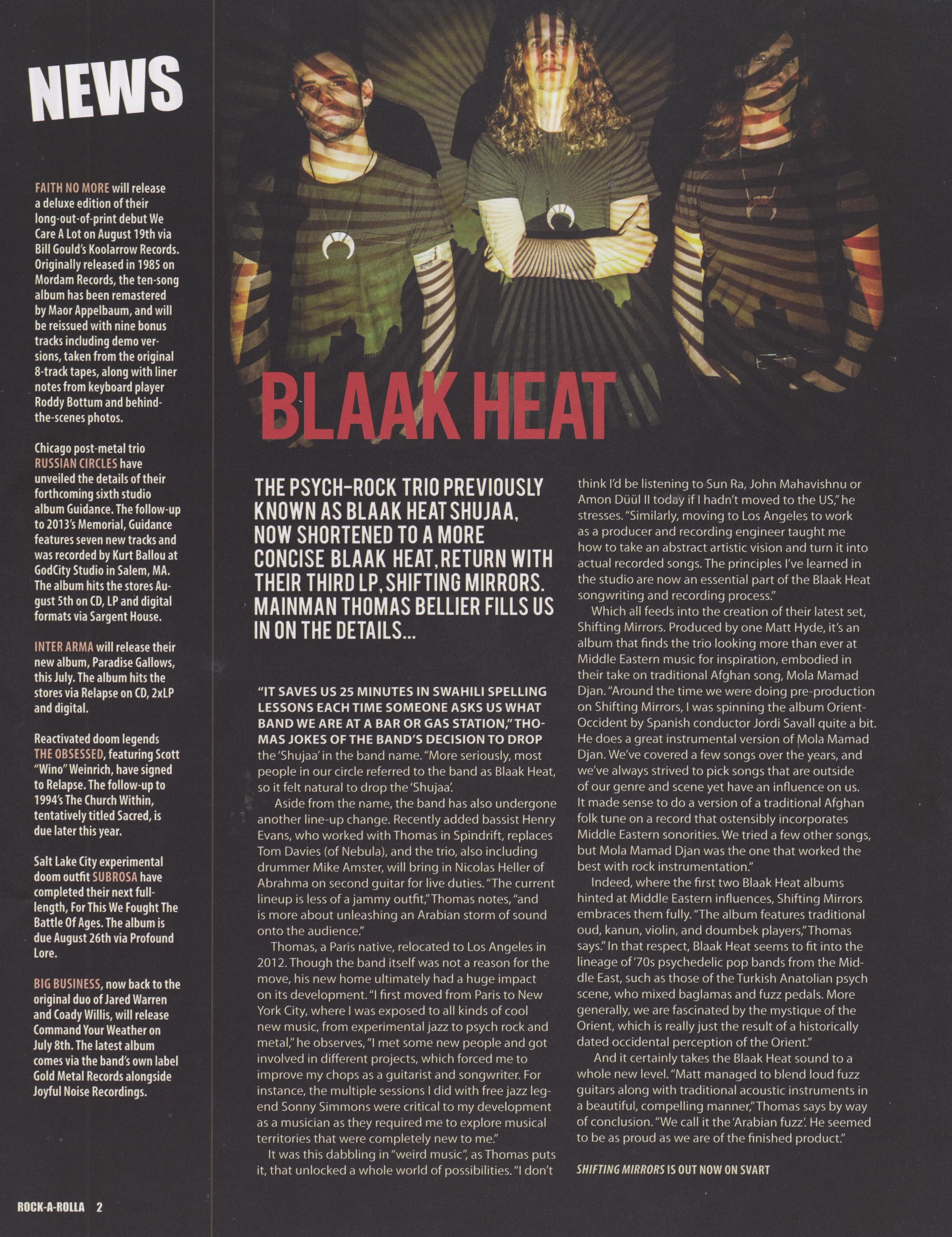 Blaak Heat - Rock A Rolla