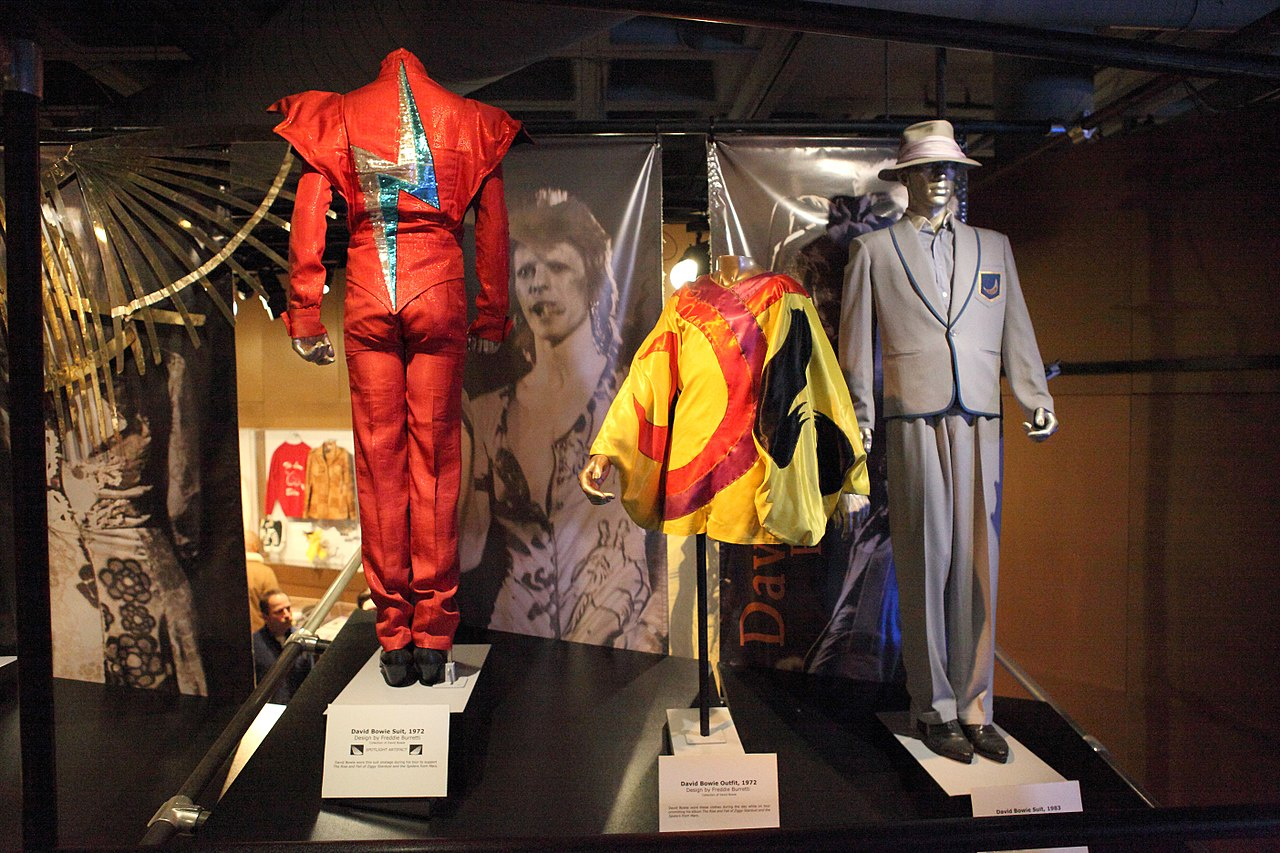 Some David Bowie outfits