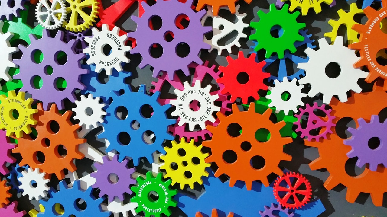Gears - image accompanying some marketing automation tips for musicians