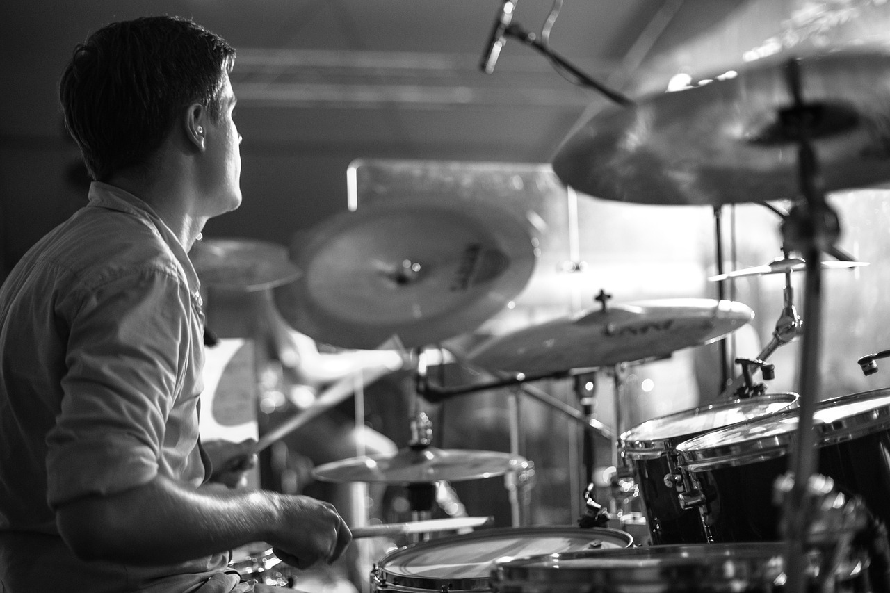 Drummer - image accompanies image about how to promote a music tour