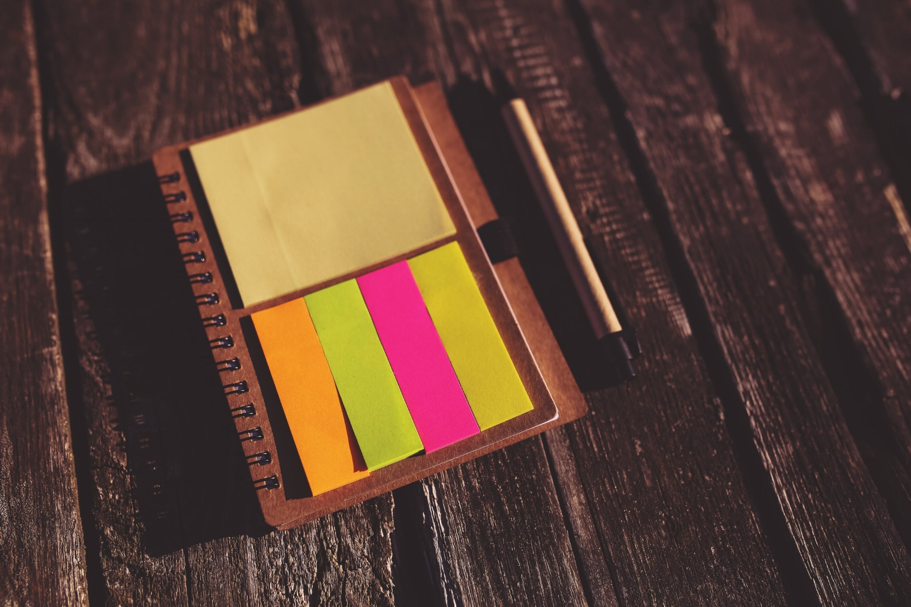 Post it notes - image accompanying an article about planning an album release