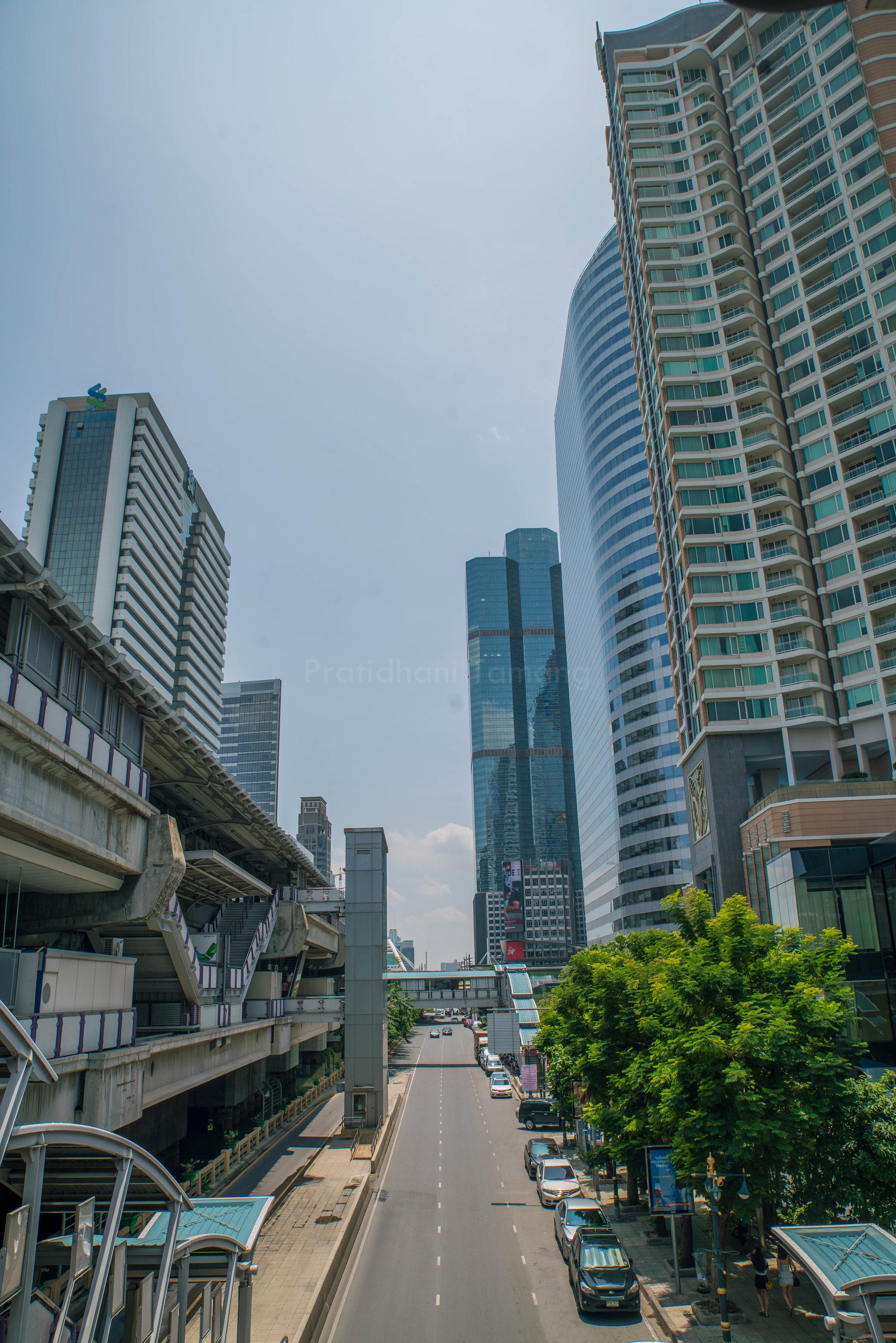 Heart of the city, Bangkok.