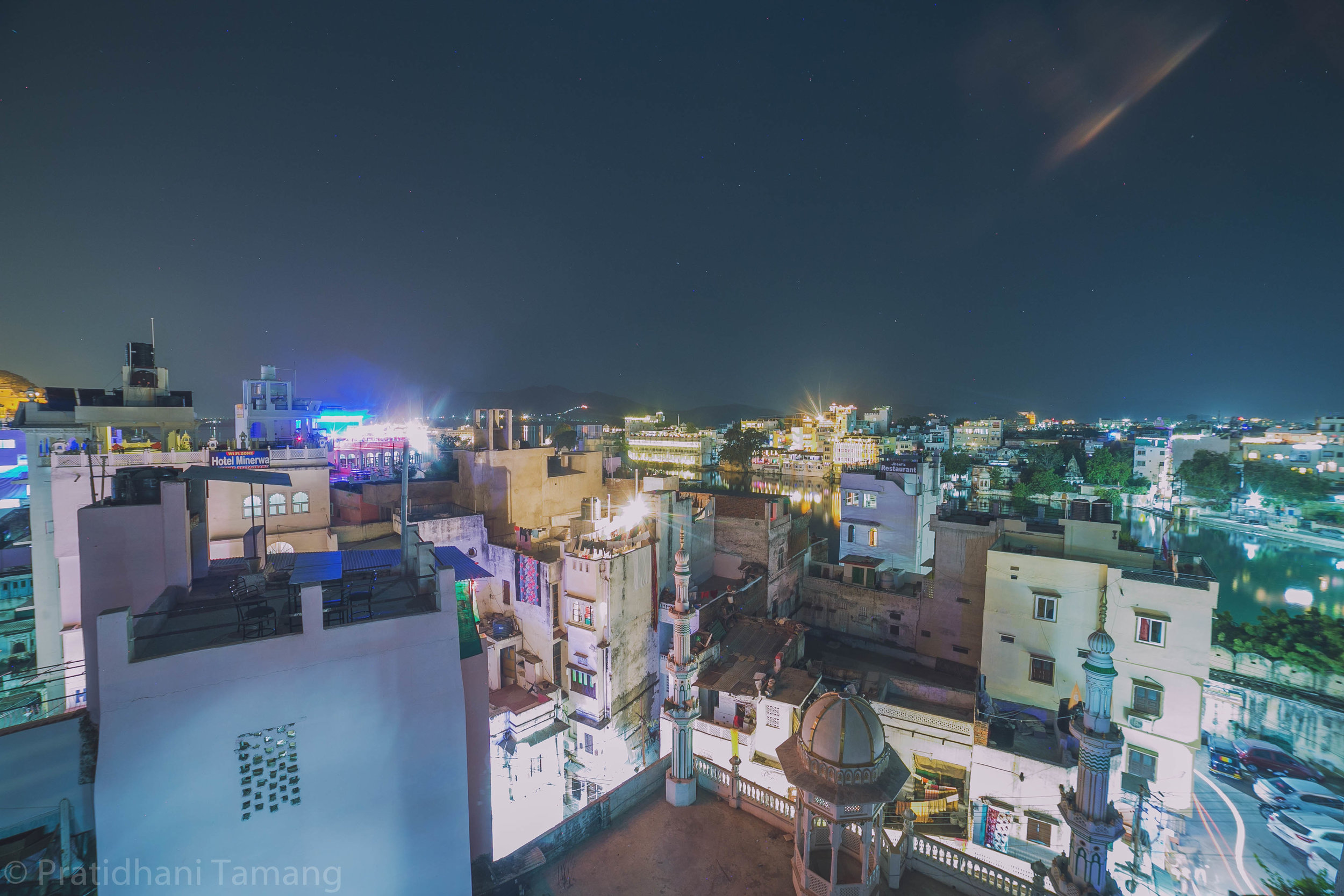 View from our hostel in Udaipur. We drank old monk and played cards till late. I can't remember the game anymore. we also met a random English guy who kept losing and got wrecked.