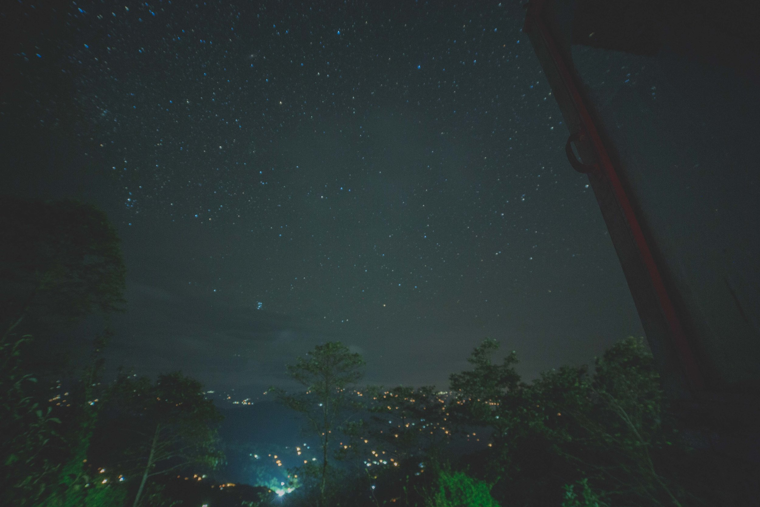 On nights like these. People fall in love. Surrounded by stars and nature. Not anyone but only two souls.