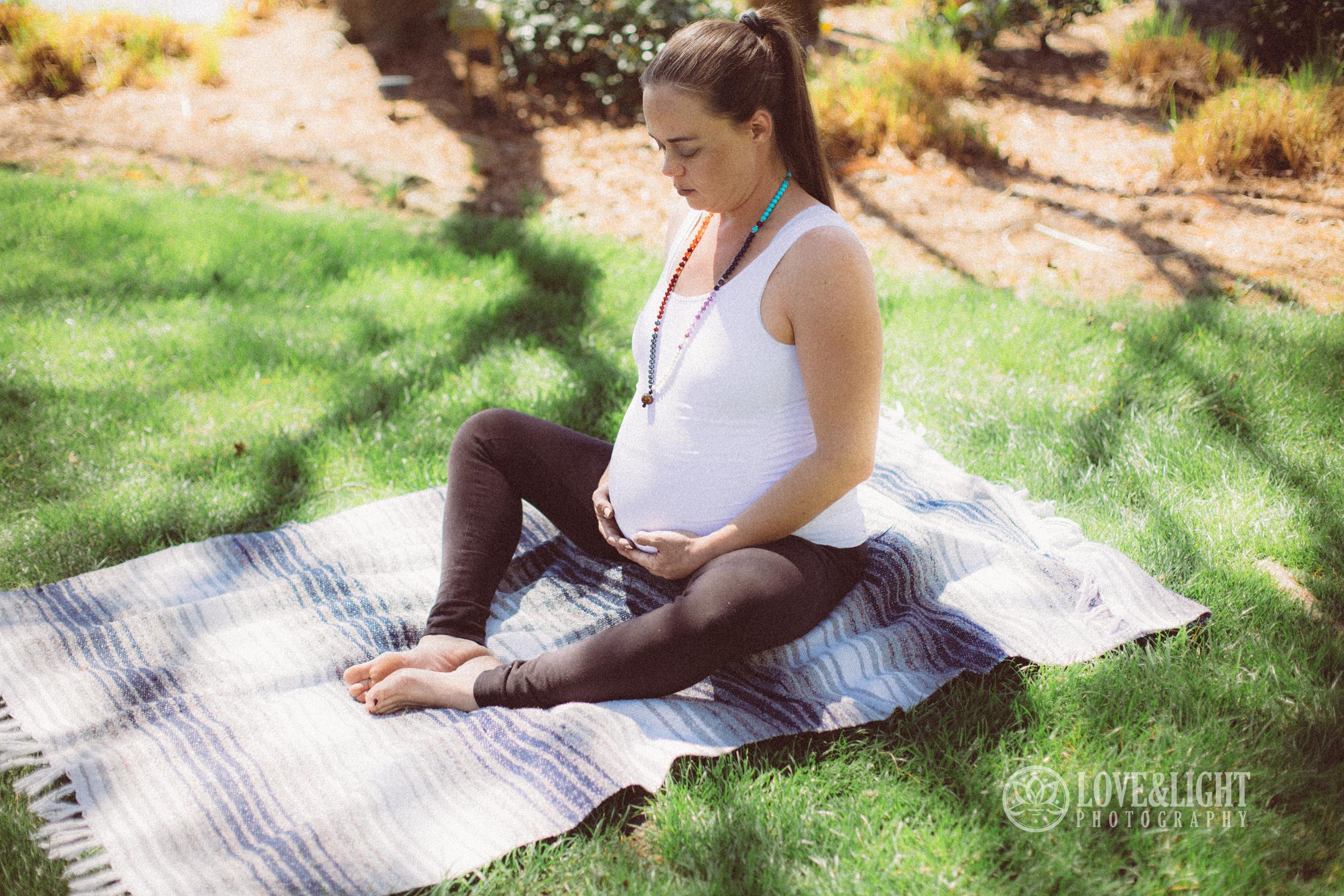 Newborn photographer, maternity photographer, prenatal yoga, lake norman, love and light photography