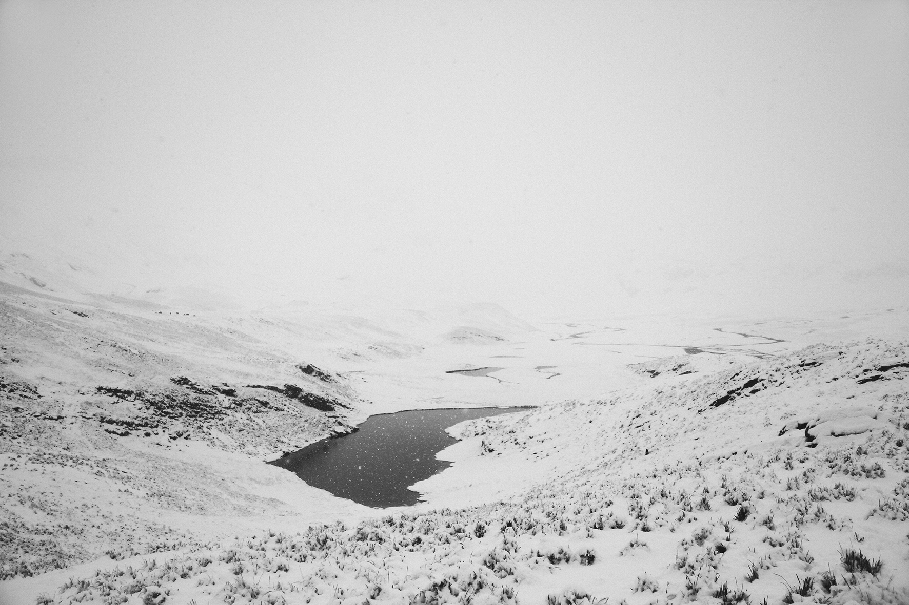 Antarctica Lake (series: Articulate Silence), 2010
