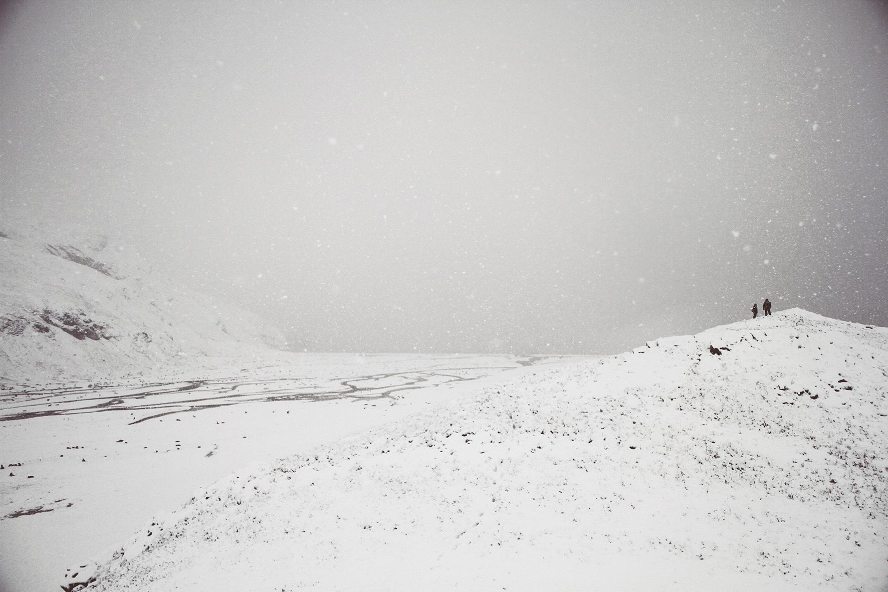 Antarctica People (series: Articulate Silence), 2010