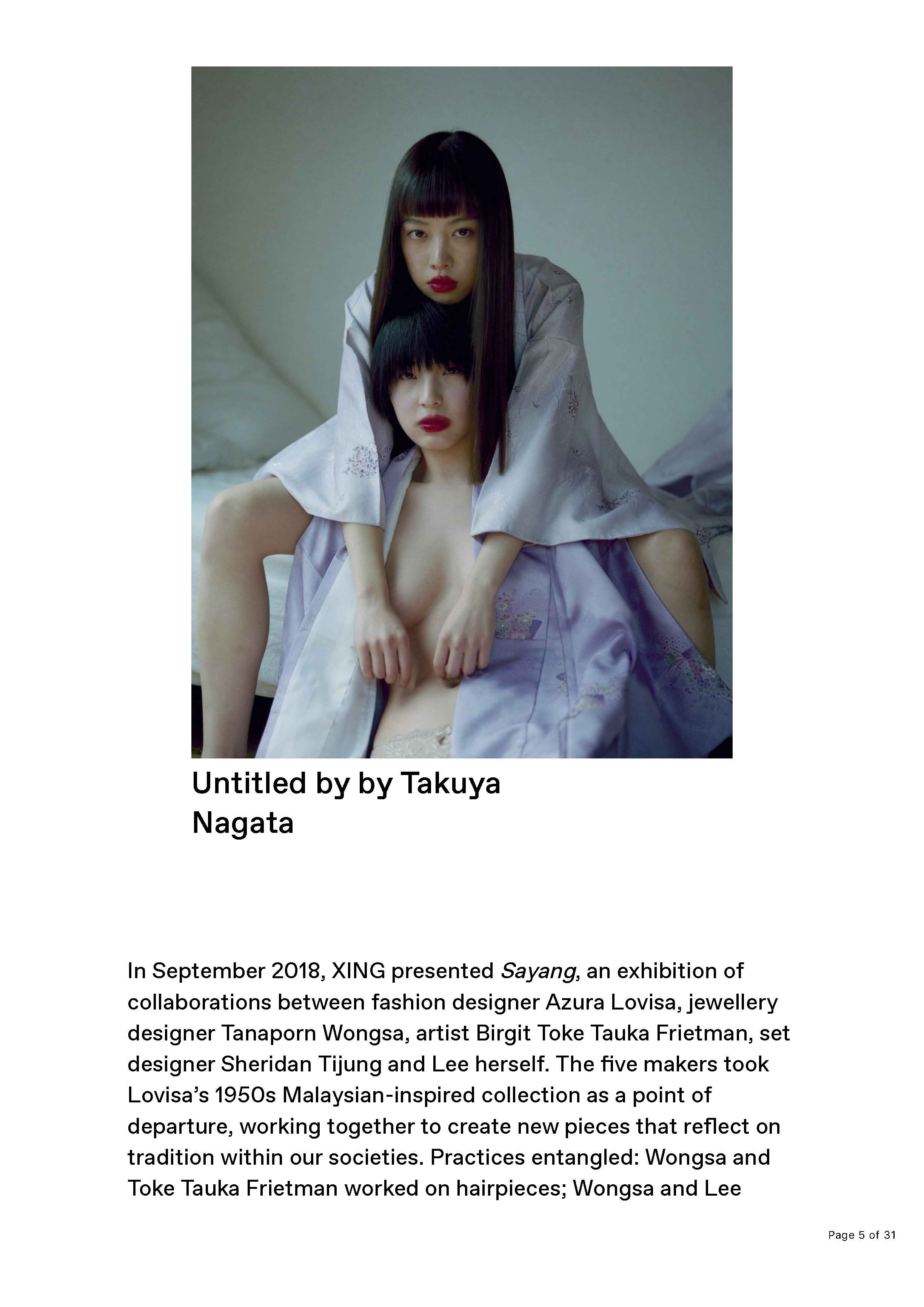 XING by Jade Barget, Unseen Amsterdam 2019, A.I. Gallery. Elizabeth Gabrielle Lee. News _Page_05.jpg