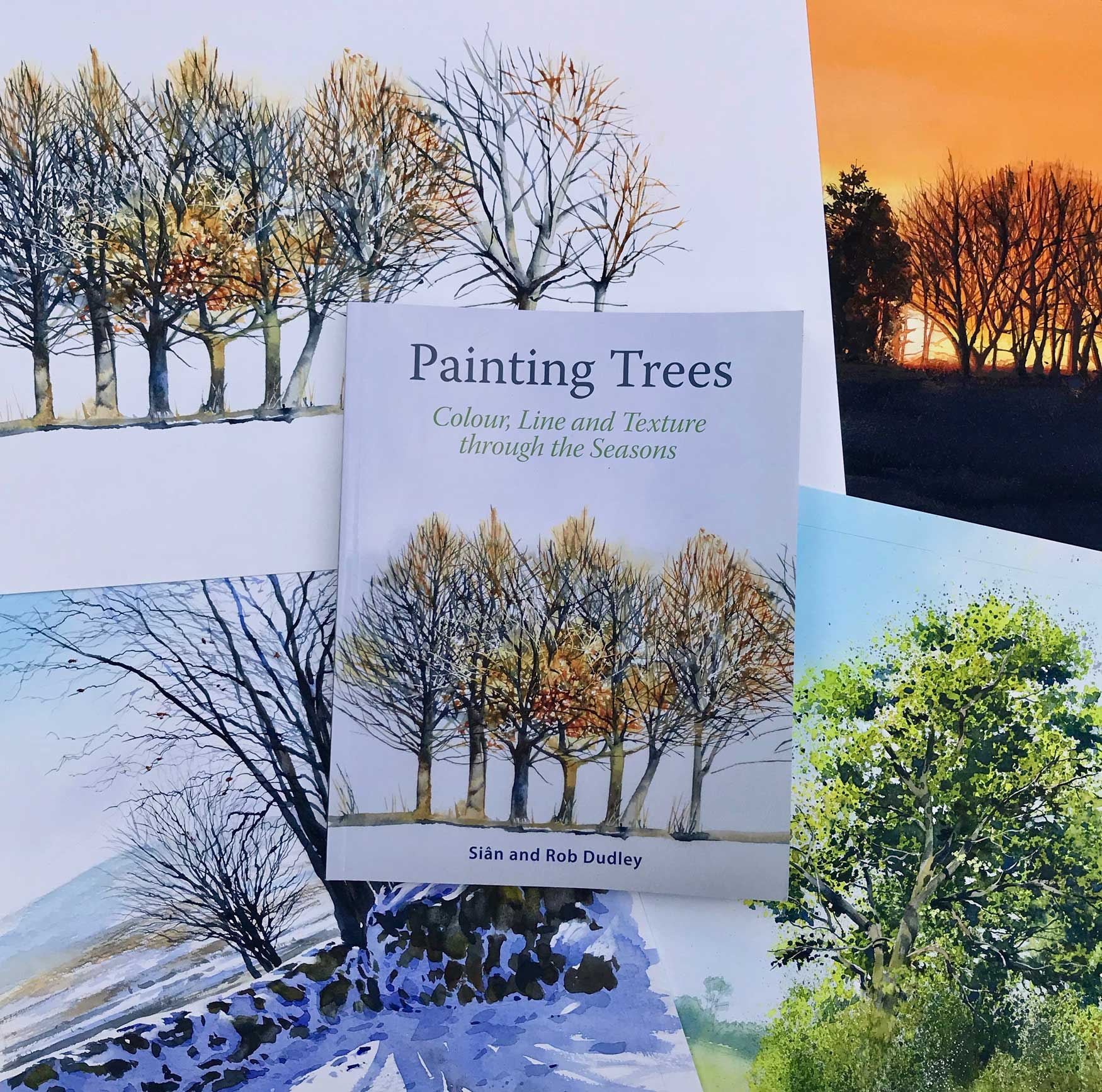 'Painting Trees' with some of the original images
