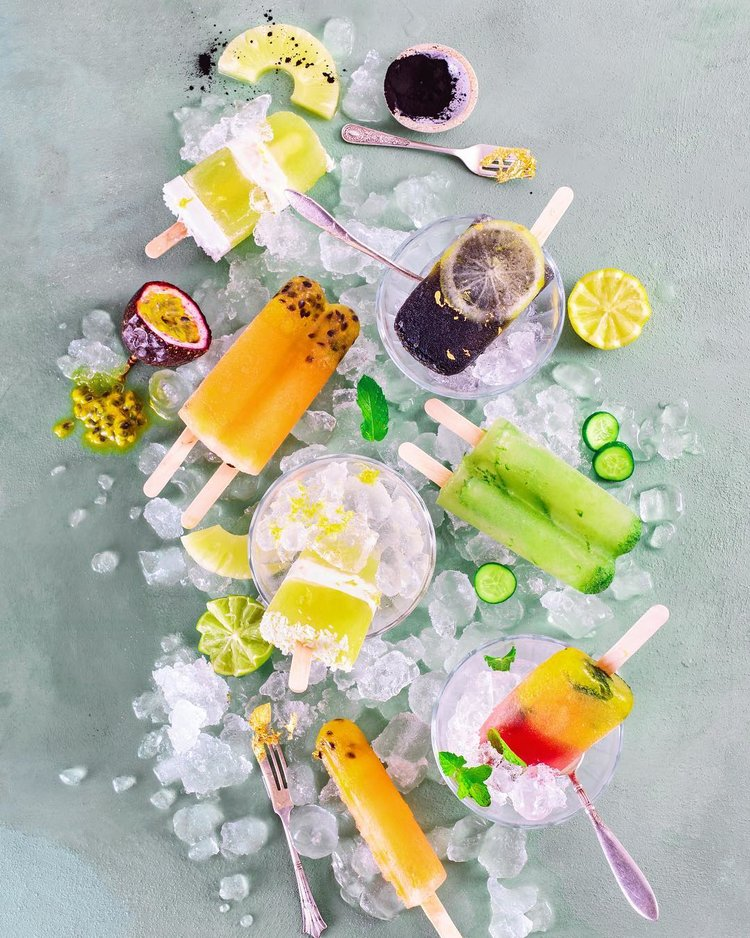 Youjuice Ice-block Recipes - Written, styled and shot by Kasia Sykus.