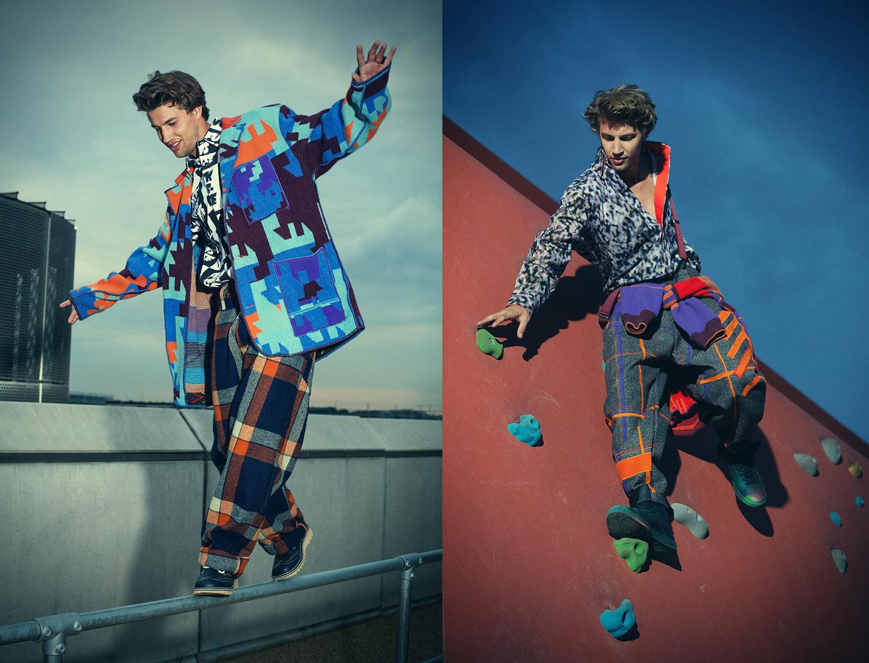 Mens fashion shoot