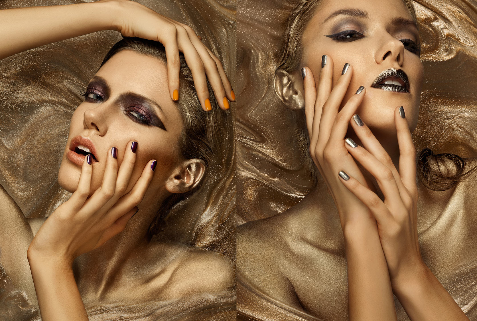 the rock+crystal nail