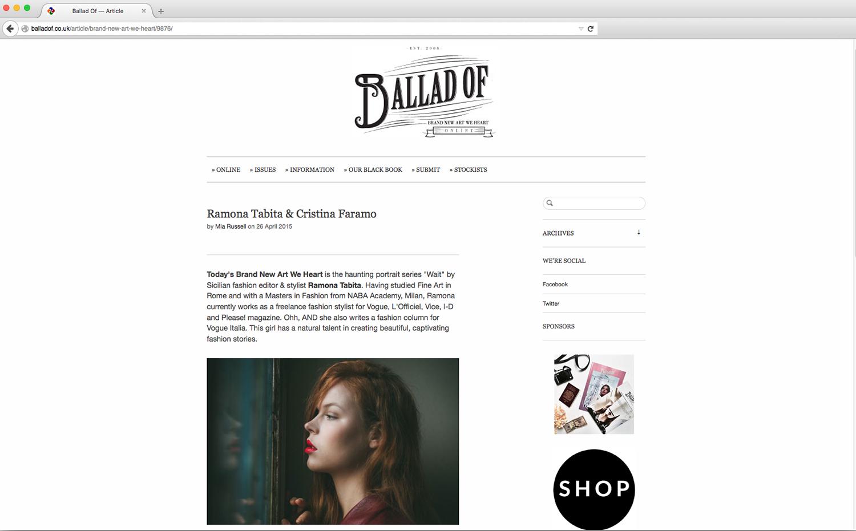 Ballad of Magazine