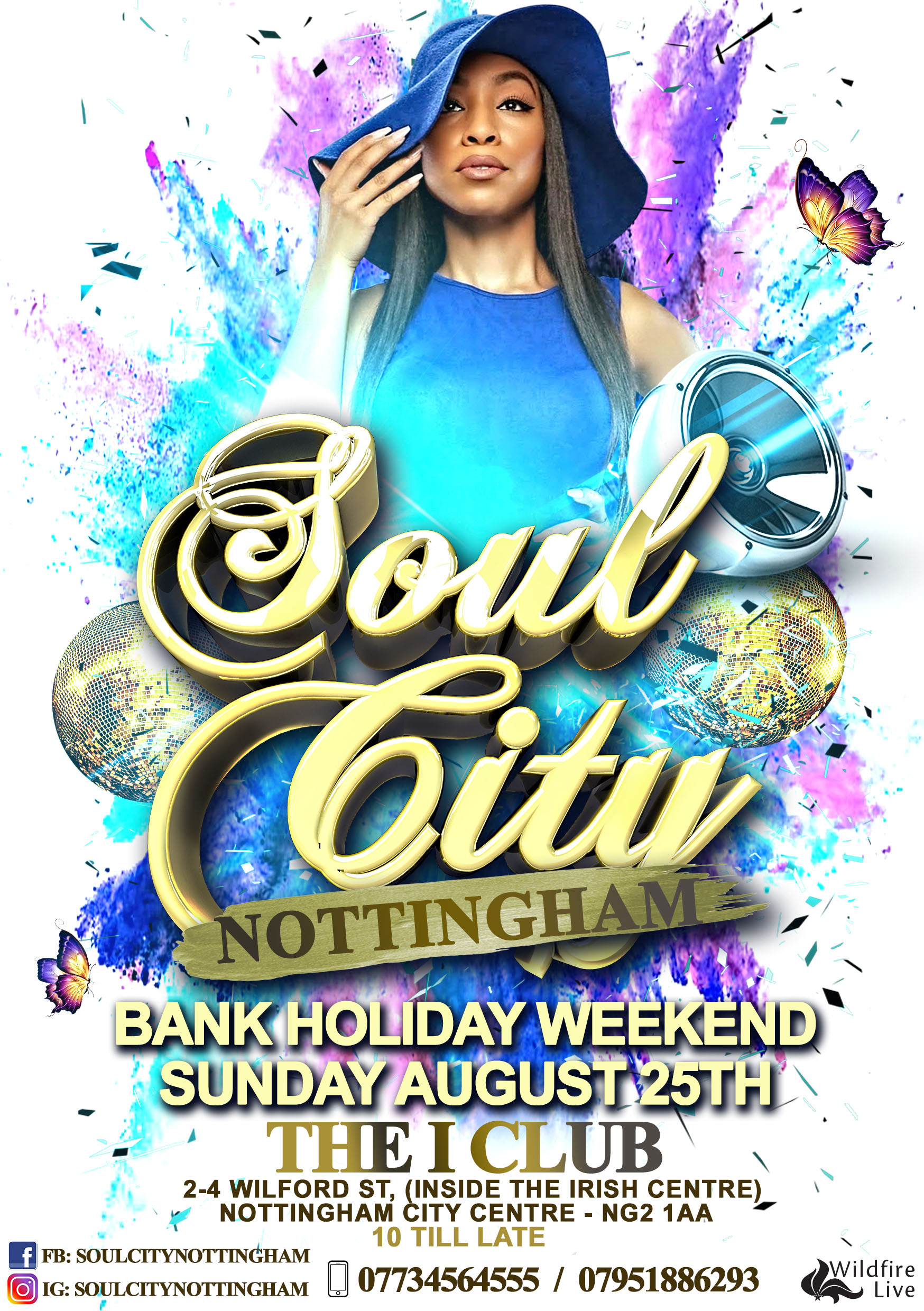 Soul City Notts - Bank Holiday Special
