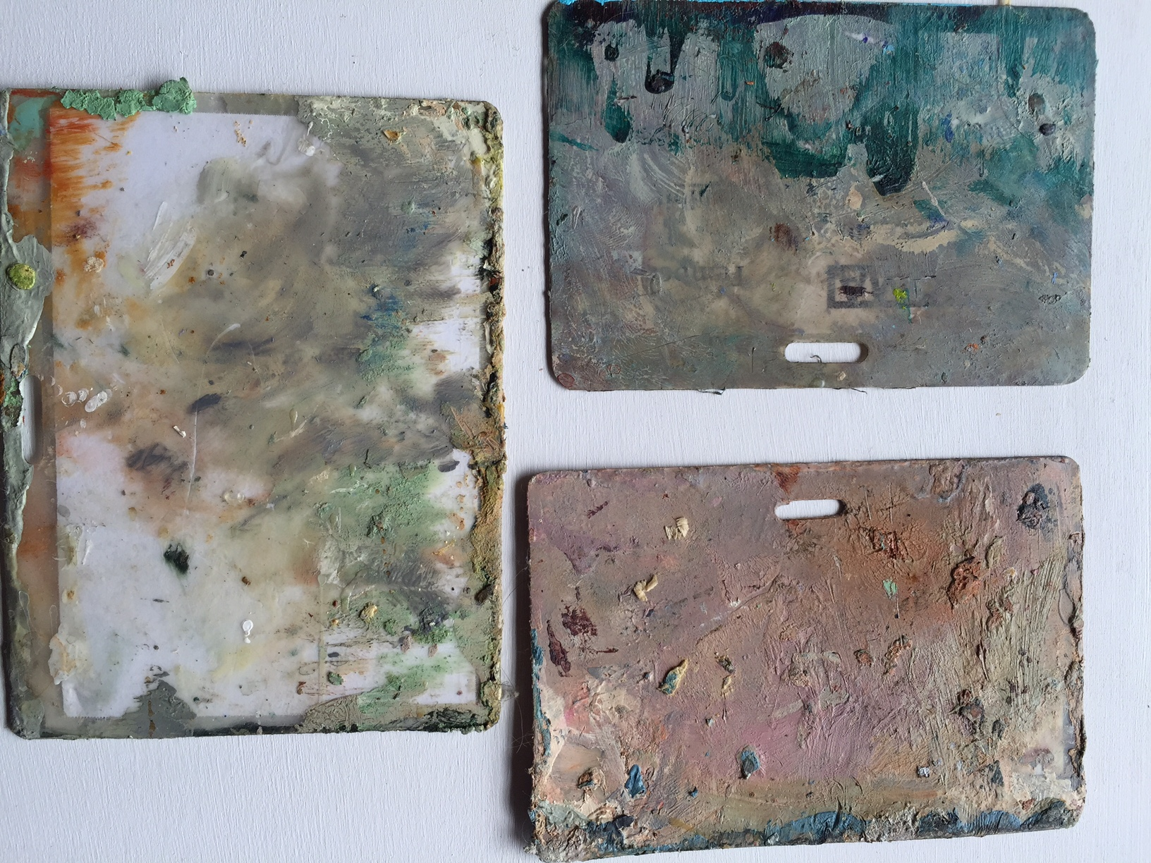 Some of my tools, such as the scraping tools, become inspiration for future concepts, as does my floor palette.