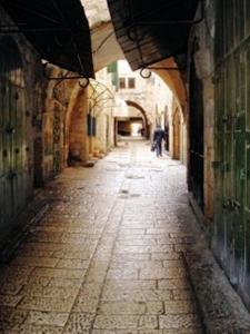 Old City, Jerusalem,  Mike Huber
