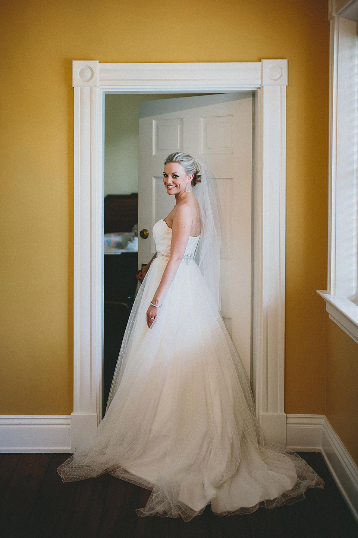 Gorgeous Cincinnati Ohio Wedding Bridal Portrait