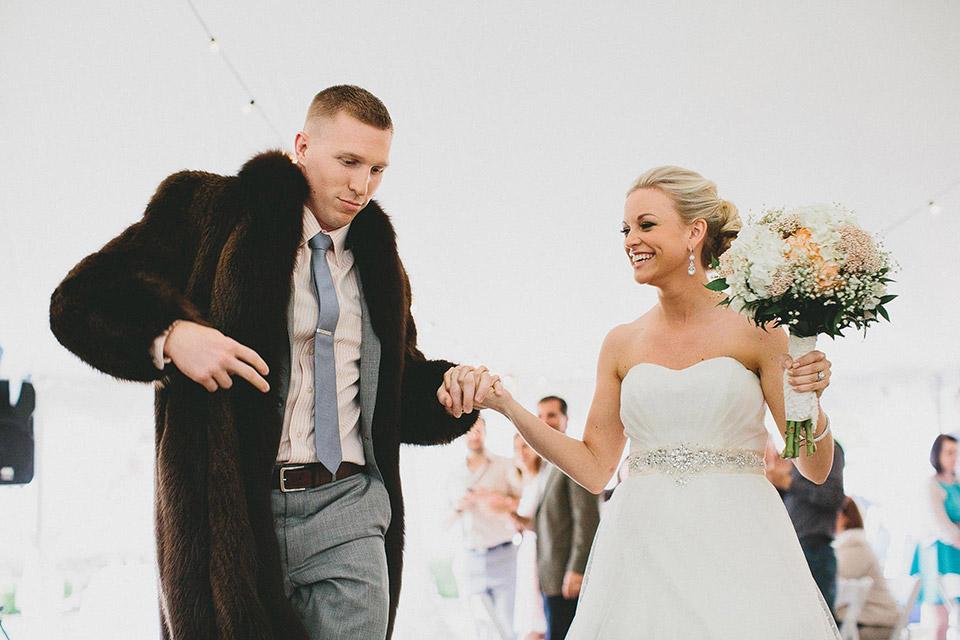 Macklemore Wedding Reception Entrance