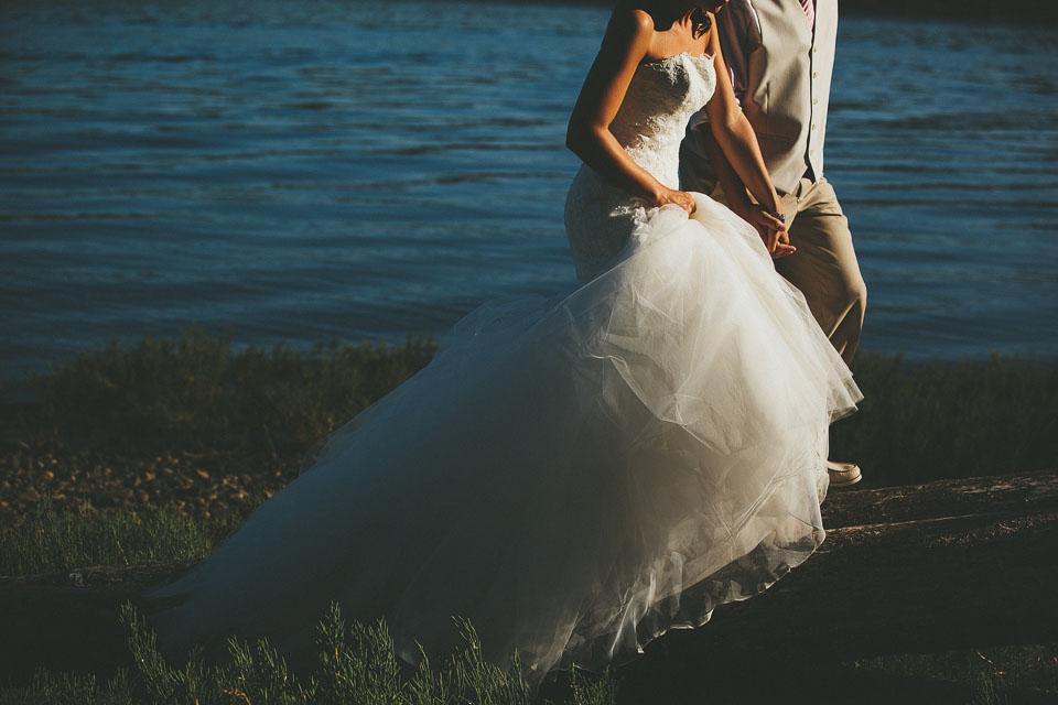 Ali + Brock Seattle Washington Wedding