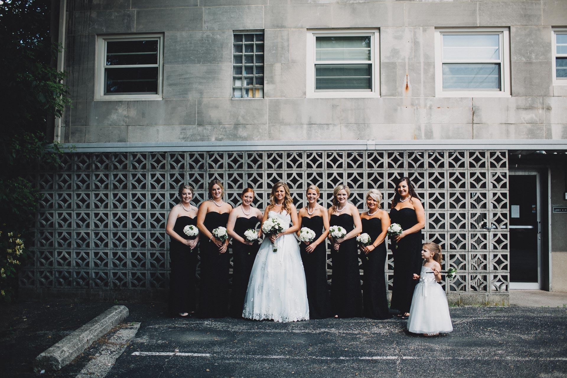 Urban Bridesmaids Photo Black Tie