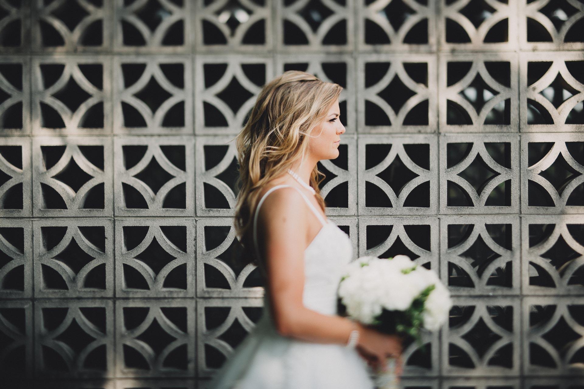 Stunning Bridal Portrait Columbus Ohio Wedding