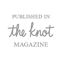 The Brauns have been published in The Knot Magazine