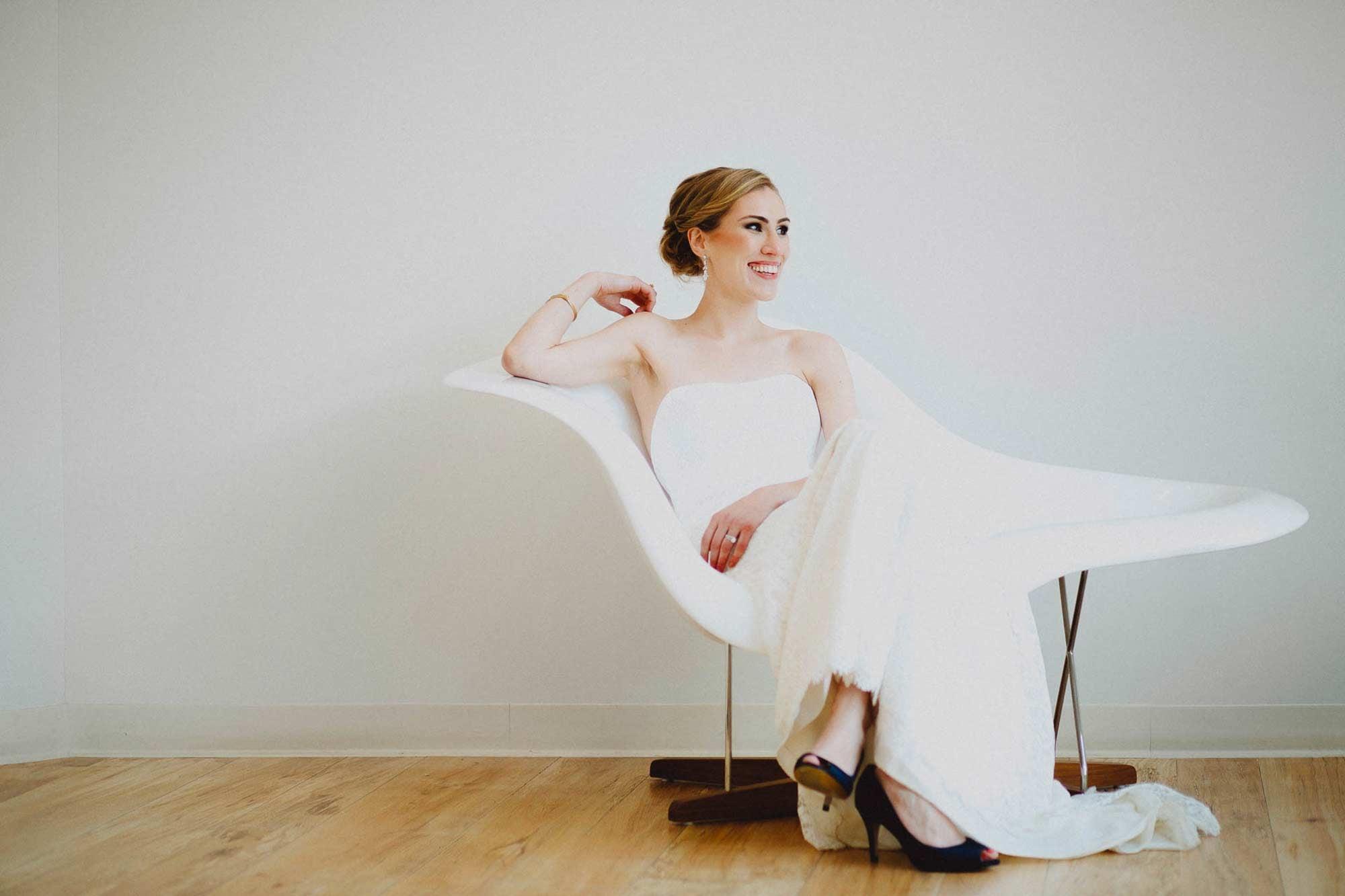 Herman Miller Mid Century Bridal Portrait - Cincinnati Ohio