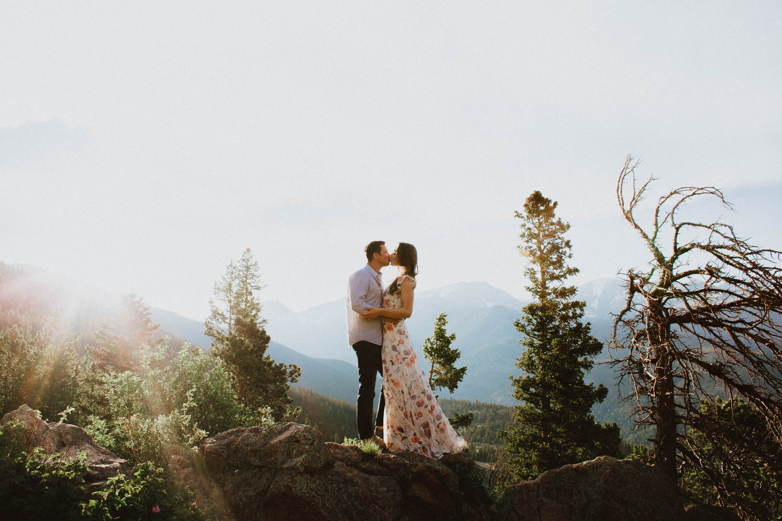 Rocky Mountain National Park Engagement Session Colorado
