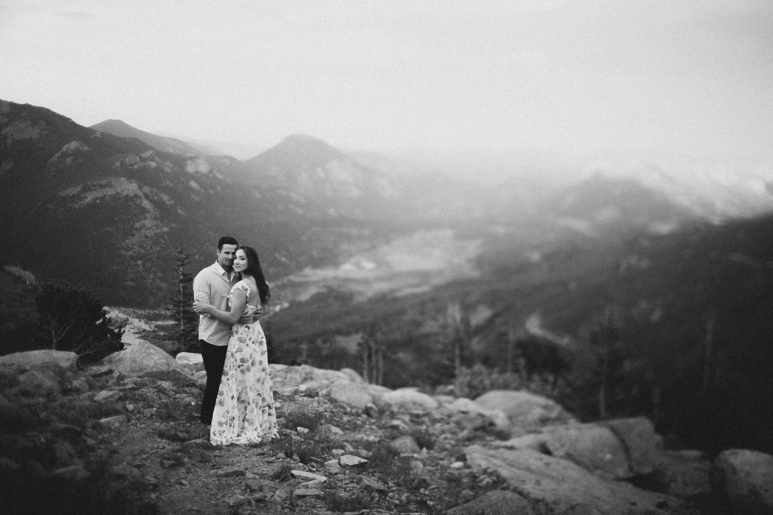 Rocky Mountain National Park Engagement Session Estes Park