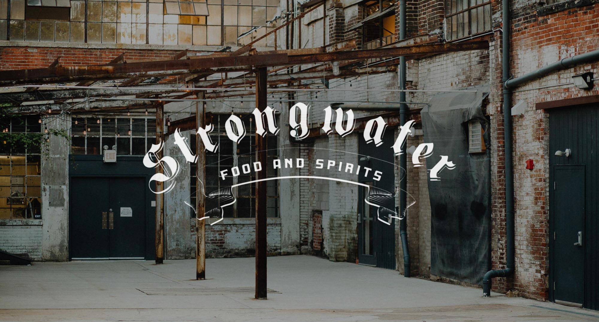 Strongwater Food and Spirits Urban Wedding Columbus Ohio