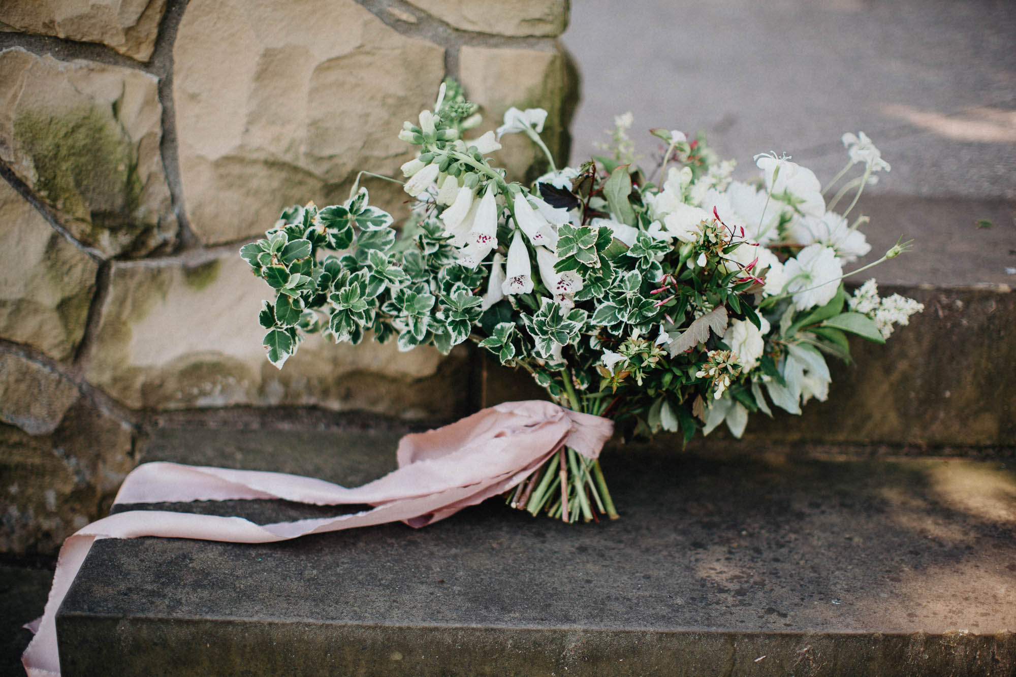 Stunning Bridal Bouquet by Evergreen Floral Co in Columbus Ohio