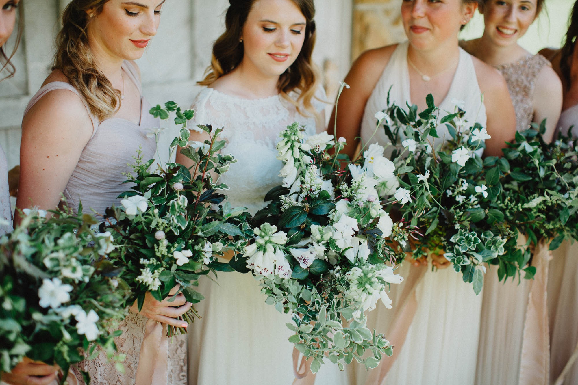 Wedding Flowers by Evergreen Floral Co in Columbus Ohio