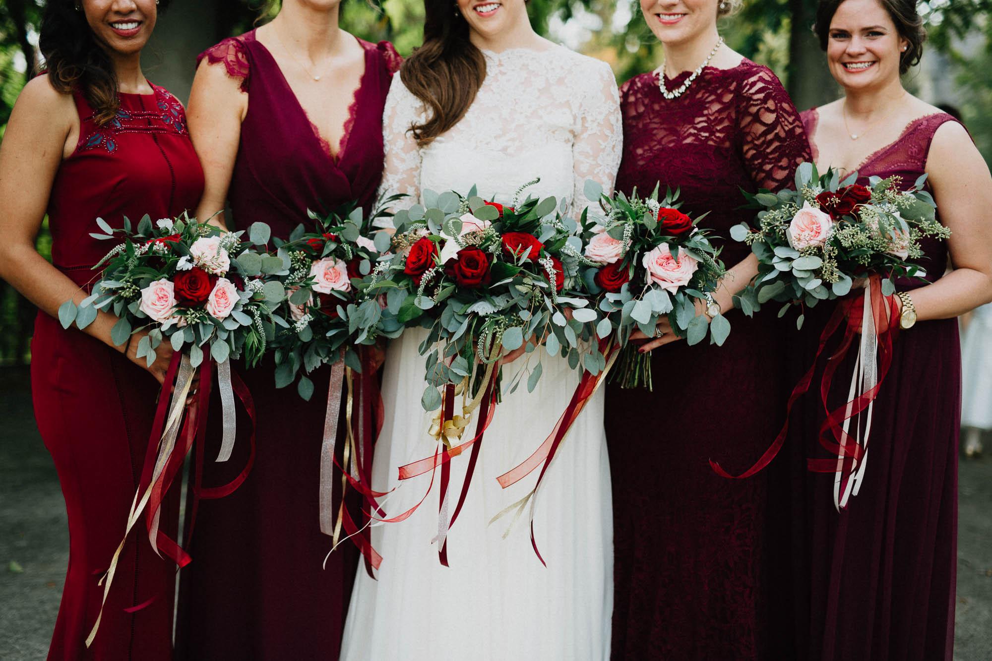 Schiller Park in German Village Wedding