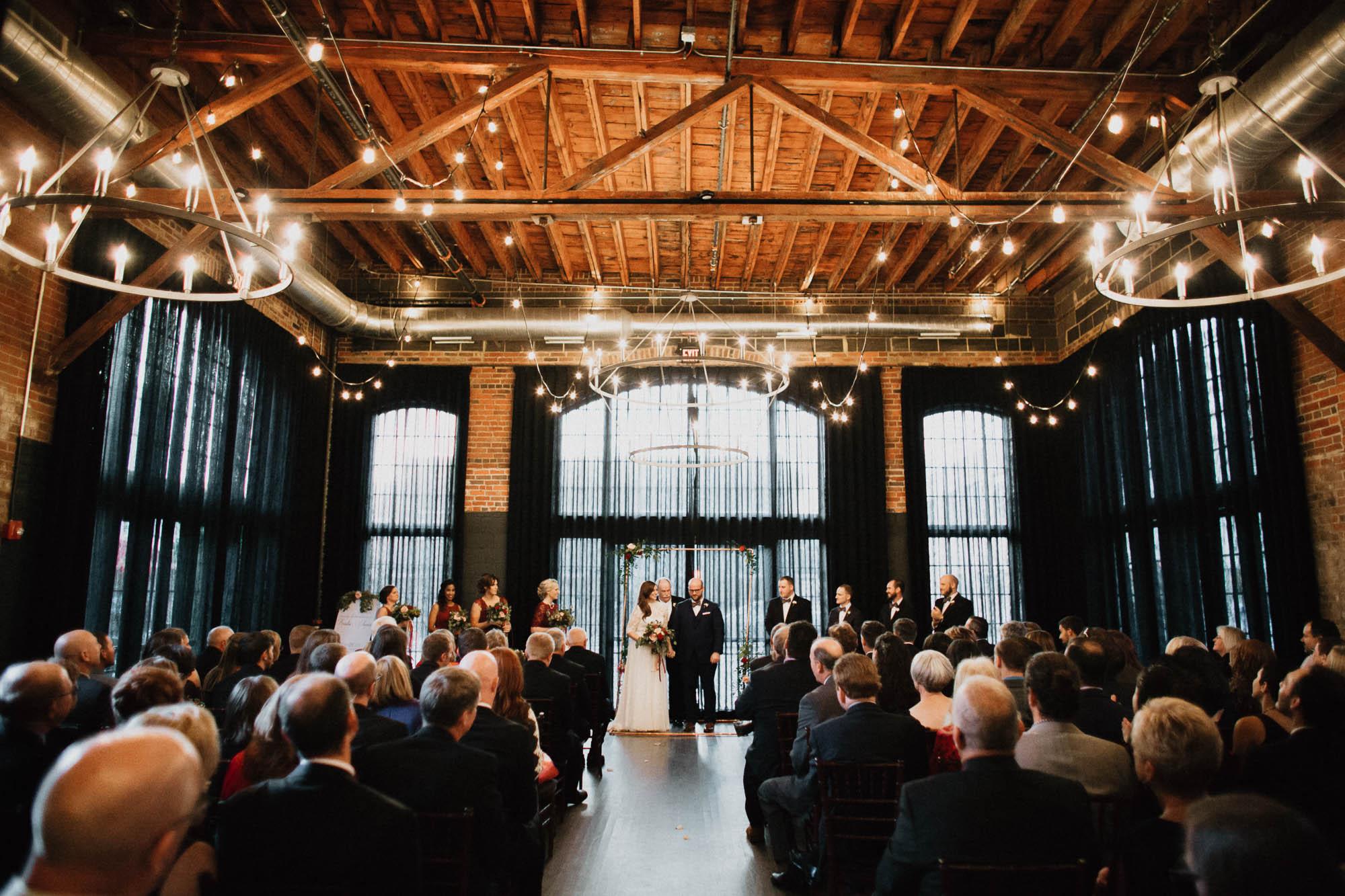 Highline Car House Wedding Ceremony