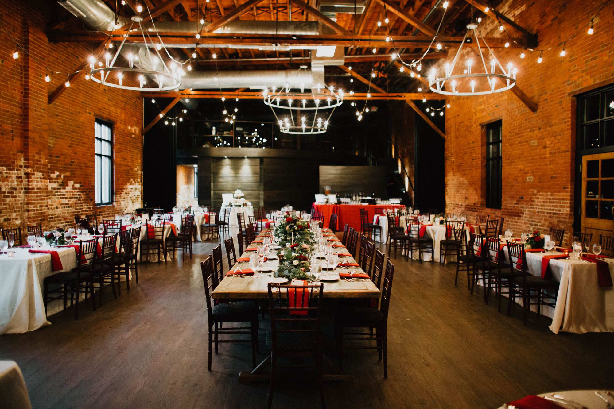 Highline Car House Wedding Reception