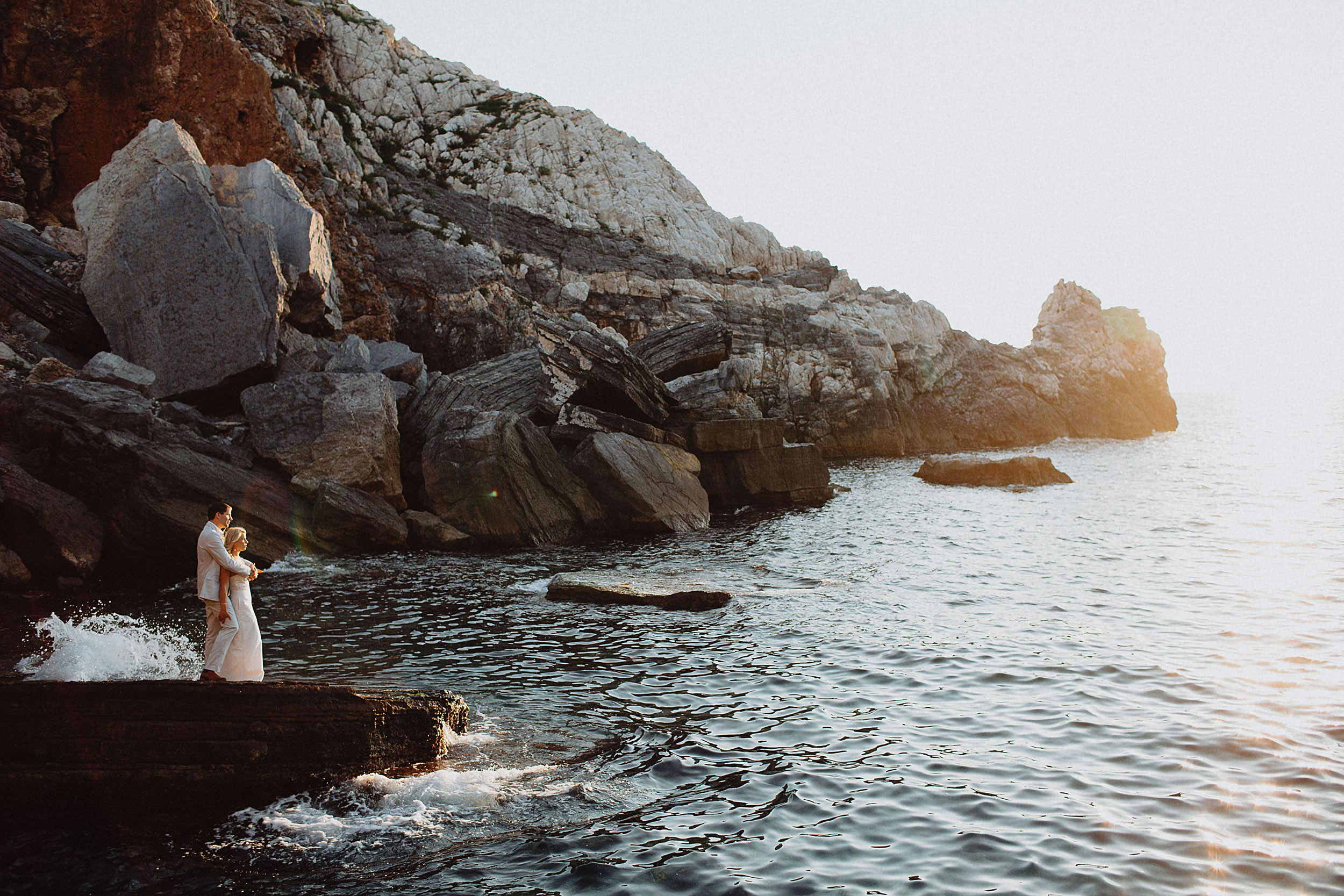 Destination Elopement on the coast of Italy