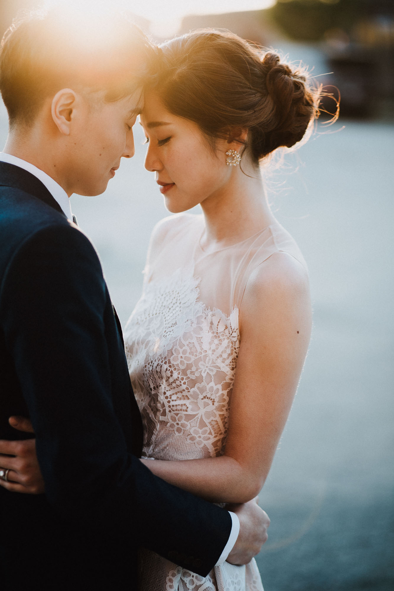 Natural Light Wedding Portrait