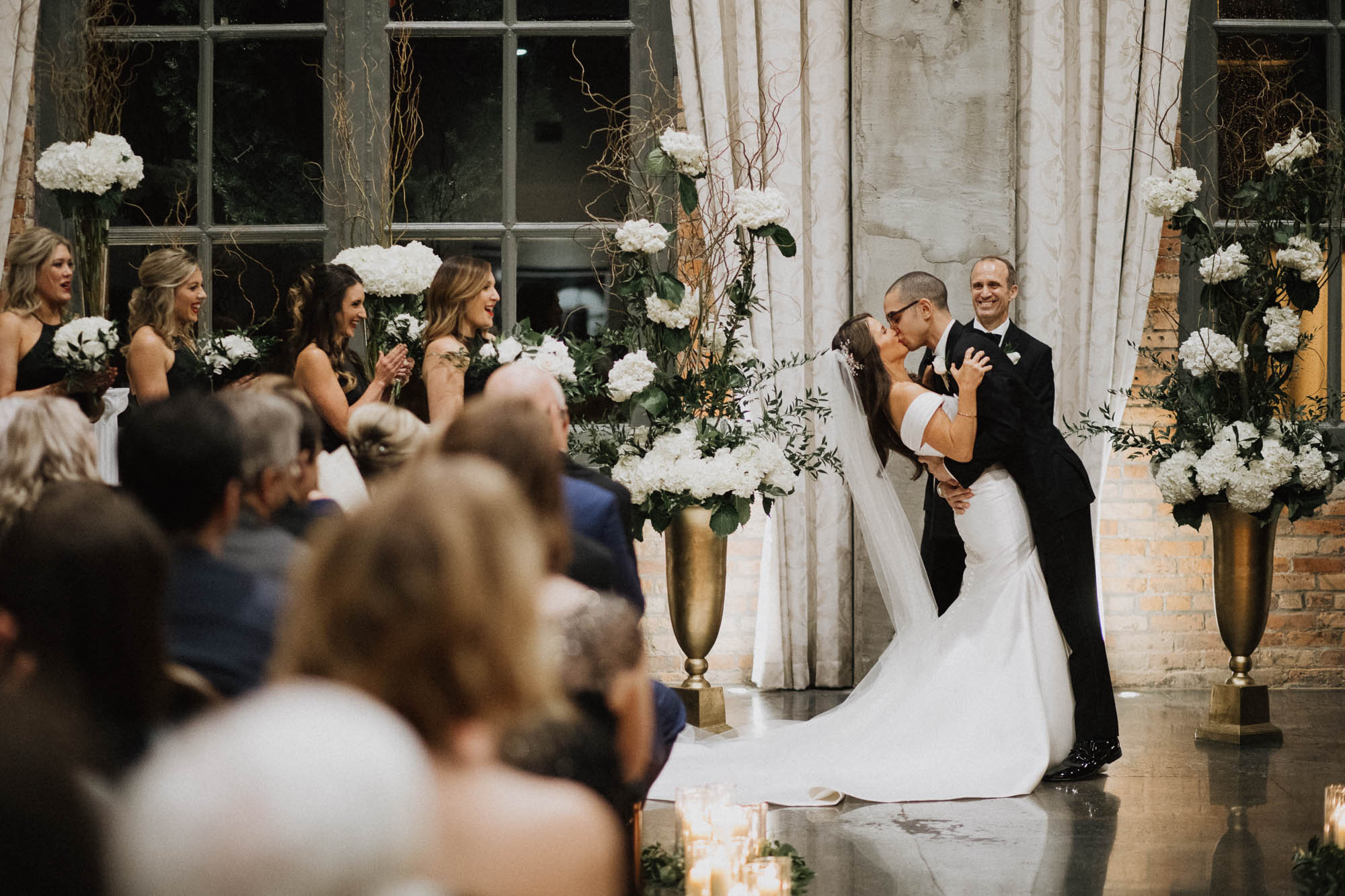 Steam Plant Wedding Ceremony